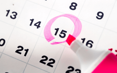 Pen Calendar Date